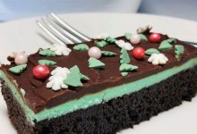 Photo of Рецепт: Чоколаден колач со вкус на ментол