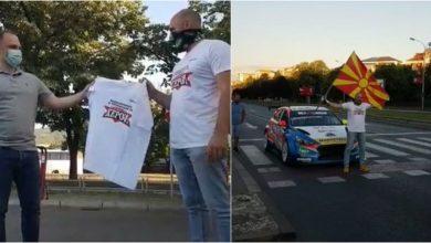 "Photo of ВИДЕО: Иџе се сретна со Филипче и му даде подарок, па ги ""запали"" улиците на Скопје"