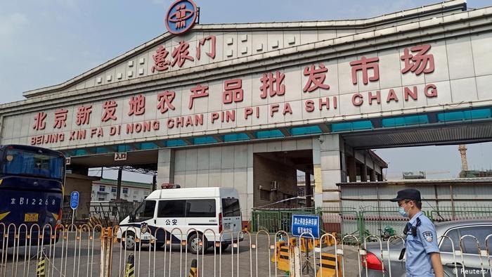 China Coronavirus Xinfadi Markt in Beijing (Reuters/)
