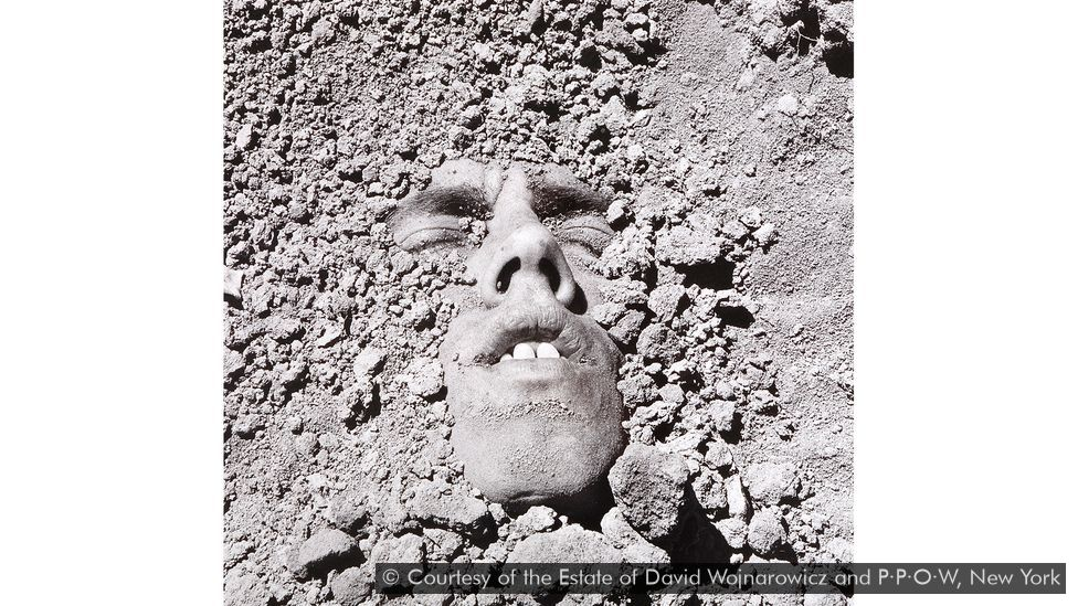 In this untitled self-portrait, David Wojnarowicz reflects on his own mortality (Credit: Courtesy of the Estate of David Wojnarowicz and P·P·O·W, New York)