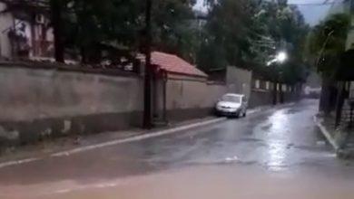 Photo of (ВИДЕО) Силен и пороен дожд поплави улици во Битола
