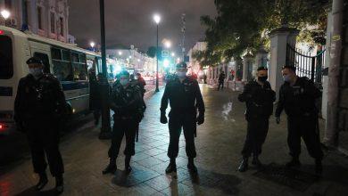 Photo of Најмалку шест лица уапсени близу Амбасадата на Белорусија во Москва