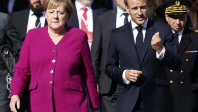 Photo of Макрон ја прими Меркел во Елисејската палата пред збогувањето на канцеларката од политиката