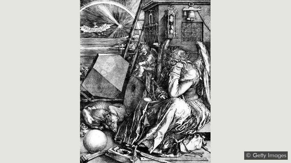 With multiple symbols to decode, Albrecht Dürer's 16th-Century woodcut poses a conundrum for viewers (Credit: Getty Images)