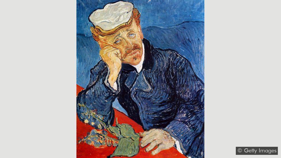 """Van Gogh wrote: """"I have found a true friend in Dr Gachet… so much do we resemble each other physically and also mentally"""" – he finished this portrait weeks before shooting himself"""