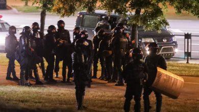 Photo of Полицијата во Минск ги затвори приодите кон Плоштадот на независноста