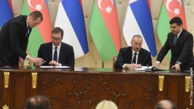 Photo of Вучиќ телефонски разговараше со претседателот на Азербејџан за извозот на оружје за Ерменија