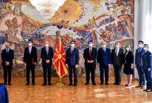 Photo of Новиот ЕУ амбсадор Гир му ги предаде акредитивните писма на претседателот Пендаровски