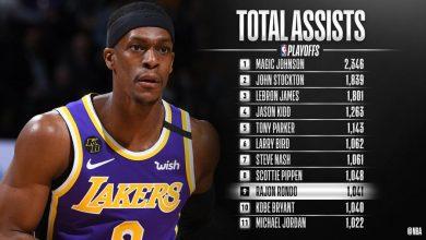 Photo of Рондо го надмина Брајант во топ 10 асистенти во НБА