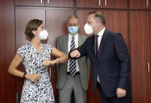 Photo of Средба на министерот Спасовски со шведската амбасадорка Форсгрин Бенгтсон