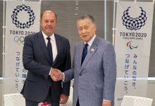 """Photo of Токио 2020 со јубилејна честитка до """"WKF"""""""
