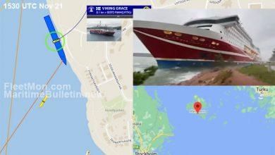 Photo of ВИДЕО: Брод се насука на еден фински остров, патниците не се загрозени