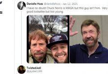 Photo of Двојник на Чак Норис кај Капитол стана хит на интернет
