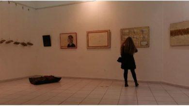 """Photo of Изложба """"Напречно црвено низ празното"""" во Куманово"""