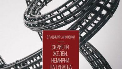 """Photo of """"Скриени желби, немирни патувања"""" на Владимир Јанковски во трката за книжевната награда Балканика"""