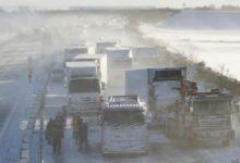 Photo of Верижен судир на 130 возила во Јапонија