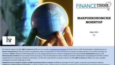 Photo of Објавен Макроекономскиот монитор на Фајнанс тинк за четвртиот квартал лани