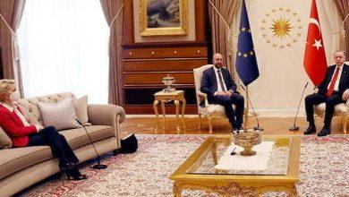Photo of ВИДЕО: Фон дер Лајен изненадена од протоколот кај Ердоган – немаше кај да седне