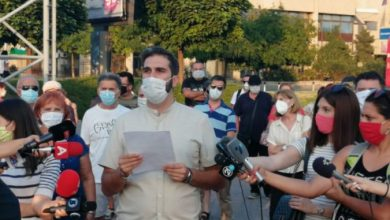 """Photo of """"Правда за штедачи"""" бара разрешување на министерот Бесими"""