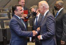 Photo of Премиерот Заев се сретна со Џозеф Бајден денес на самитот на НАТО
