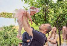 Photo of Филипче на првиот роденден на Лара- ќерката на донорот на срце и бубрези Јасмина