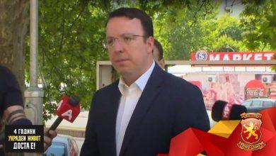 Photo of Николоски: ВМРО-ДПМНЕ ќе бара да им се рефундираат средствата на граѓаните кои мораат да одат во странство да се вакцинираат поради неспособната власт на Заев и Филипче