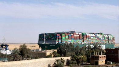 """Photo of Постигнат отштетен договор за блокадата на бродот """"Евер Гивен"""" на Суецкиот канал"""