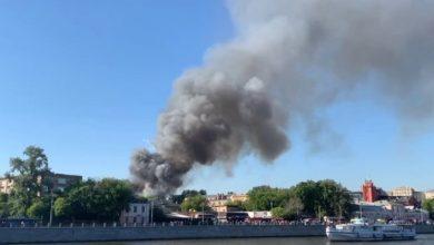 Photo of Пожар во складиште за пиротехника во Москва, се слушаат експлозии