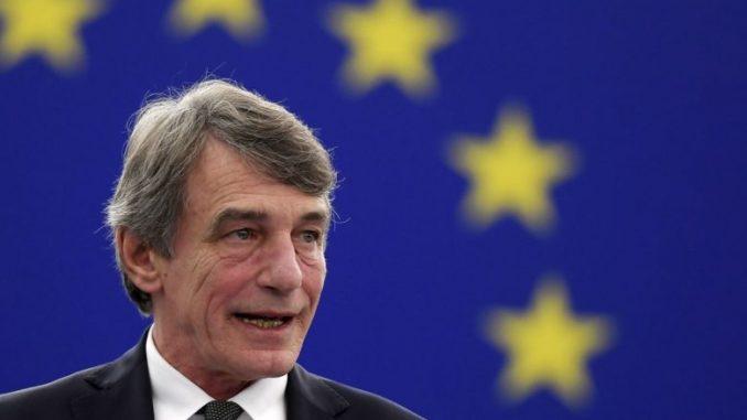 Сасоли: Европскиот парламент ќе бара навраќање на буџетските преговори - МИА