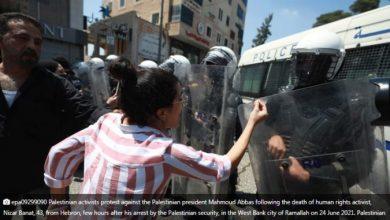 Photo of Стотици Палестинци протестираа по смртта на критичарот на палестинските власти