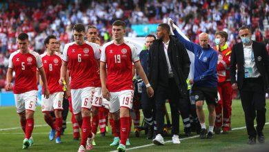 Photo of Македонските фудбалери му посакаа брзо закрепнување на Ериксен