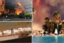 Photo of ВИДЕО: Пожари во Турција одземаа 3 животи, 112 лица се повредени – огнот во Анталија стигнал до хотелит