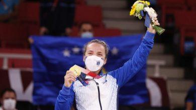 Photo of Косовската џудистка Дистриа Красниќи освои злато во Токио