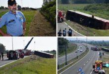 Photo of ( Видео) Заспал на волан- Приведенн возачот на автобусот кој излета од патот во Хрватска