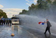 Photo of Судири мегу полицијата и противниците на здравствениот пасош на Елисејските полиња