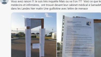 Photo of Закани со гилотина за политичарите кои се залагаат за здравствен пасош во Франција