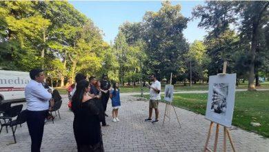 Photo of Денот за сеќавање на Холокаустот врз Ромите одбележан во Градскиот парк во Скопје