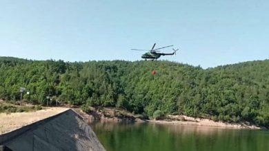 Photo of Само што пристигнаа хеликоптерите се повлечени од Пехчево поради високите температури