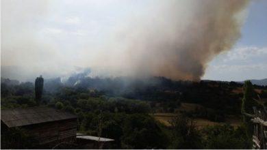 Photo of Пожарот во Пасјак зафати дел од куќите, населението евакуирано