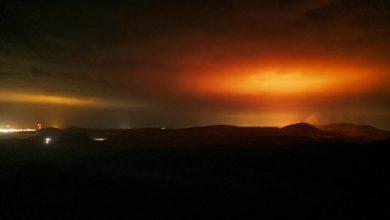 Photo of Шест месеци излегува лава од вулканот Фаградсфјал, во близина на Рејкјавик