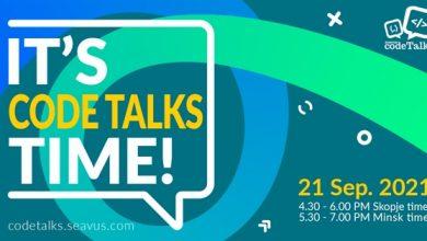 """Photo of Сеавус Code Talks посветен на темата """"Concourse CI, поинаков пристап за CI/CD"""" ќе се одржи на 21 септември"""