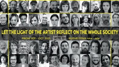 """Photo of """"Нека светлината од уметникот се одрази врз целата заедница"""""""