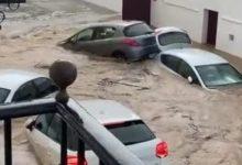 Photo of Водата носи автомобили по улиците во Шпанија