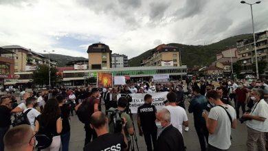 Photo of (Видео) Инцидент во Тетово: Демонстрантите се судрија со полицијата