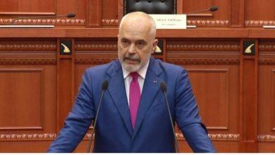 """Photo of Рама: Никој не може да и држи лекции на Албанија, а за """"Отворен Балкан"""" времето ќе покаже кој е во право"""