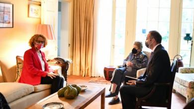 Photo of Средба на Шекеринска со поранешната државна секретарка на САД, Медлин Олбрајт