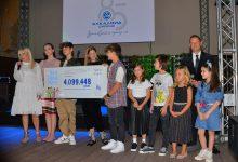 """Photo of Со отворање ретроспективна изложба и предавање донација од над 4 милиони денари на клиниката за детски болести одбележан 85-годишниот јубилеј на """"алкалоид"""""""