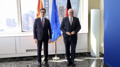 Photo of Пендаровски – Штајнмајер во Њујорк: Градењето пријателски релации со Германија е од исклучително значење за Република Северна Македонија