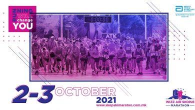 Photo of Уште 20 дена до 17тиот Виз Ер Скопски Маратон 2021