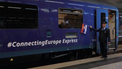 """Photo of Меѓународниот воз """"Connecting Europe Express"""" стигна на Балканот"""